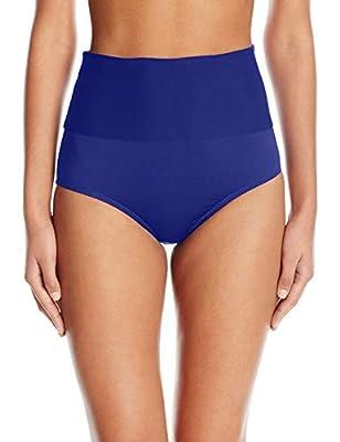 Trina Turk Women's High Waist Roll Up Hipster Bikini Swimsuit Bottom
