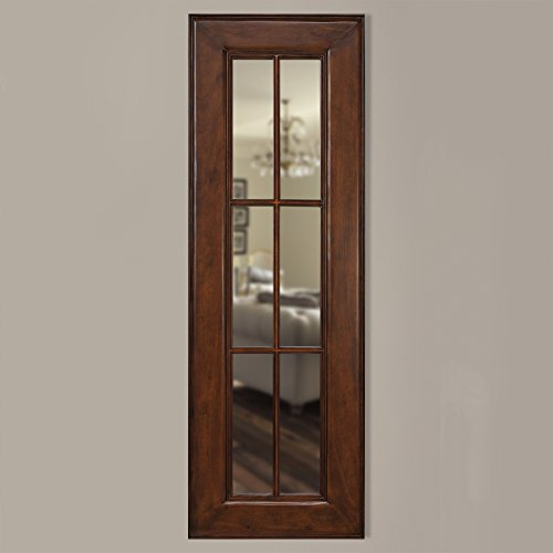 Timber Vaults, Inc Homestead Gun Concealment Mirror, Large in Caramel Finish with RFID Lock