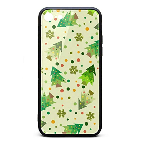 Cartoon Christmas Trees iPhone 7,iPhone 8 Phone case - Full Protective Anti-Scratch Resistant Cover Case