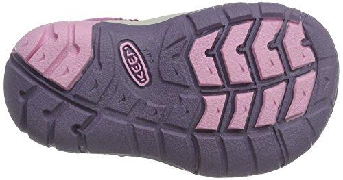 Keen Seacamp Ii Cnx T - Sandalias deportivas de Material Sintético para niño Rosa (Very Berry/lilac Chiffo)