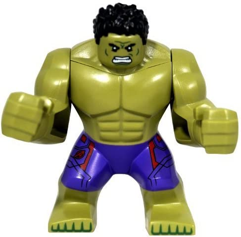 GENUINE Lego Age of Ultron - INCREDIBLE HULK Supersize Minifigure - Split from 76031 Set by LEGO