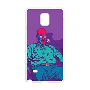 Samsung Galaxy Note 4 Cell Phone Case White_Breaking Bad Vector Gxeto