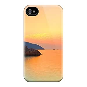 Mycase88 Snap On Hard Cases Covers Stones On Sea Sunset Protector For Iphone 6