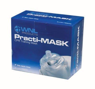 WNL Practi-MASK Adult/Child CPR Pocket Resuscitator Training Masks (pack of 10) ()