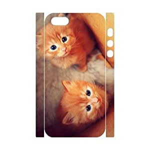 Cats DIY 3D Cover Case for Iphone 5,5S,personalized phone case ygtg-305697