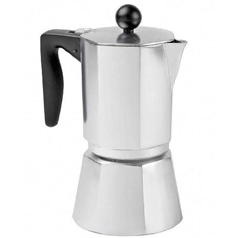 Pinti Inox Begur - Cafetera (Gris, Estufa, De café molido, Café expreso