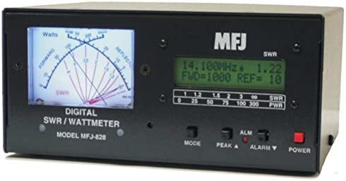 MFJ-828 Digital SWR Wattmeter Freq Counter1500w