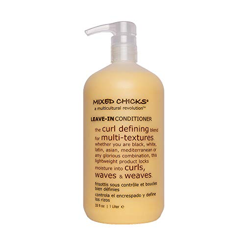 Mixed Chicks Curl Defining & Frizz Eliminating Leave-In Conditioner, 33 fl.oz. (Its A Curl Leave In Conditioner)