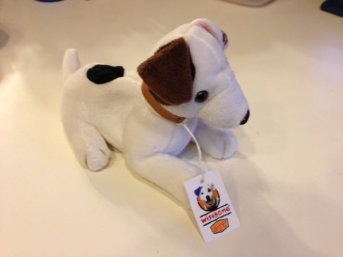 Laying Wishbone the Jack Russell Terrier Dog - Dennys Promo Plush ()