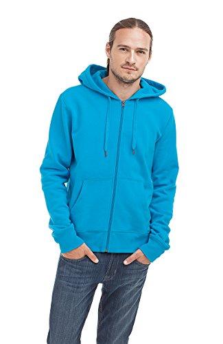 Uomo Con Felpa Blau Dunkel Styleart Cappuccio qYzwOwH