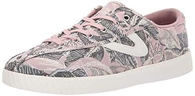 TRETORN Women's NYLITE19PLUS Sneaker Pink+Green/White 4 M US
