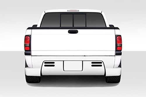 Duraflex ED-CKZ-770 BT-1 Rear Bumper Cover - 1 Piece Body Kit - Compatible For Dodge Ram 1994-2001