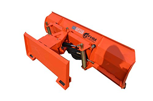 Farmer Helper 98.4″ Wide Skidsteer/Tractor Quick Attach Snow Blade (FH-SBE240) Requires a tractor. Not a standalone unit.