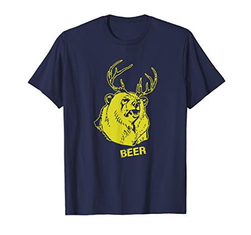 Bear Plus Deer Equals Beer T Shirt