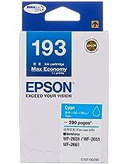 Epson T193 DuraBrite Ultra Ink, Cyan