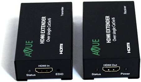 AVUE HDMI-EC200 HDMI Extender over single Cat5e or cat6//7 cable up to 200 feet