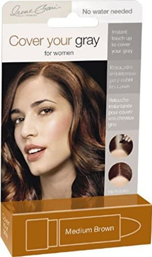 Cover Your Gray for Women Touch Up Stick, Medium Brown, 0.15 oz by Cover Your Gray