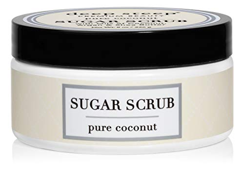 Deep Steep Coconut Oil Sugar Scrub, Pure, 8 Fluid Ounce