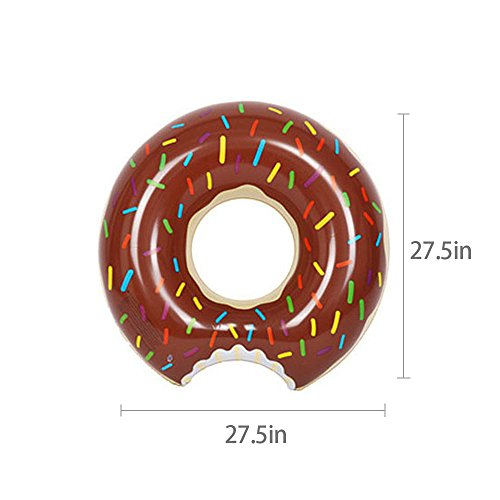 Sealive Donut Pool Float,Inflatable Pool Float Summer Water Fun Kids Raft Tube Toy ,For Family Friends Beach Party Wholesale (S, (Cheap Wholesale Items)