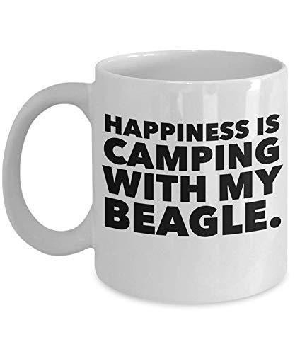 Funny Camping Dog Lovers Coffee Mug