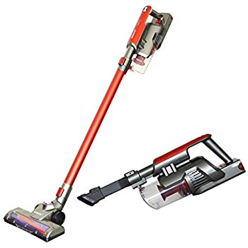 Kulecvni Cordless Vacuum Cleaner Handheld 2 in 1 Stick Vacuum with Rechargeable Lithium-ion Battery for Home, Car, Pet Hair, Hardwood Floors