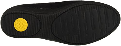 Womens Fitflop Nappa Superskate Barlume Nero