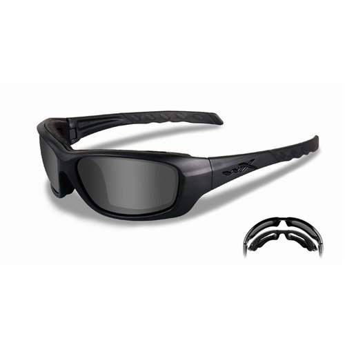 Wiley X Gravity Sunglasses, Smoke Grey/Matte ()