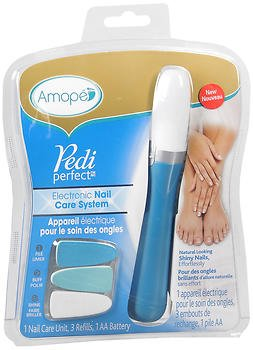 (Amope Pedi Perfect Electronic Nail Care System - 1 each, Pack of 4)