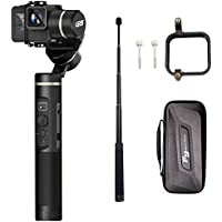 Feiyutech G6 (extension bar+Gopro sessions adapter) 3 Axis Splash Proof WIF bluetooth OLED Handheld Gimbal for GoPro Hero 6/5/4/3/Session, Sony RX0, Yi Cam 4K, AEE Action camera
