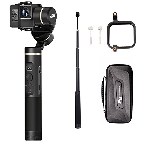 FY FEIYUTECH Feiyu G6(extension bar+Gopro sessions adapter) 3 Axis Splash Proof WIF bluetooth OLED Handheld Gimbal for GoPro Hero 6/5/4/3/Session,...