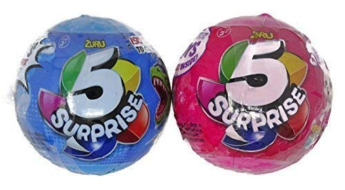 (Zuru 5 Surprise Boys and Girls Mystery Ball - Bundle of 2)