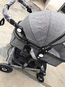 Amazon.com: Cochecito de bebé 2 en 1 de lujo con asiento de ...