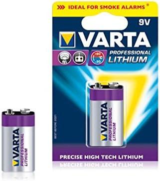 Varta Professional Lithium 9 V Block 6122 Computers Accessories