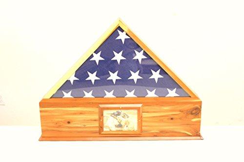 flag shadow box urn - 1