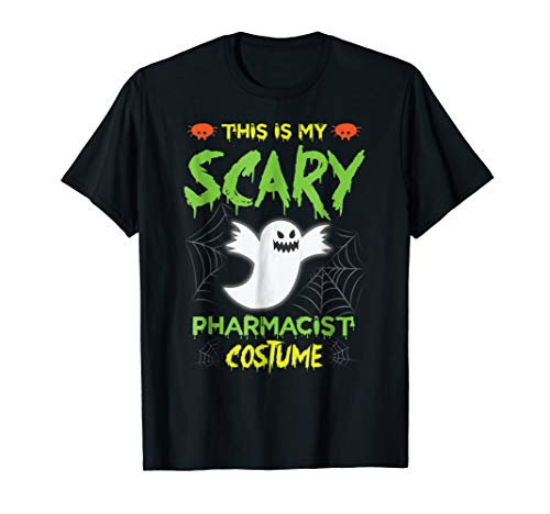 This Is My Scary Pharmacist Halloween Costume Tshirt -