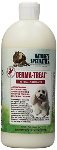 Nature's Specialties Derma Treat Pet Shampoo, 32-Ounce