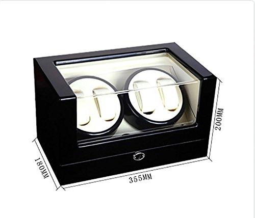 KAIHE-BOX Automatic Watch Winder Winder sstorages box Display Box Case Quiet Mabuchi Motors WB6938 , #11 by KAIHE-BOX (Image #1)