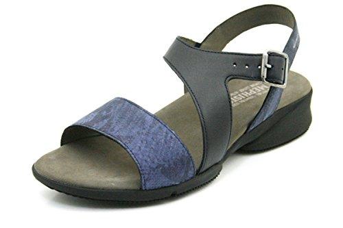 Bleu Femme Nu Sandales pieds FIDJI MEPHISTO qXPIYY