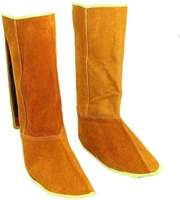 Homyl Soldadura Zapatos Protector de Pies Soldador Suministros de Limpieza Negocio Científico
