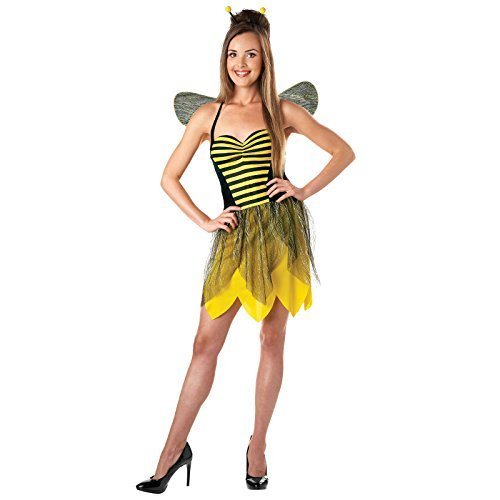 Totally Ghoul Miss Bee Costume, Size: Women's ()