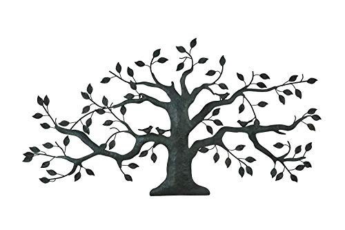 The Bridge Collection Metal Tree Wall Art Sculpture, 39