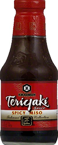 Spicy Soy Sauce (Kikkoman Takumi Collection Spicy Miso Soy Sauce, 20.5 Ounce -- 6 per case.)