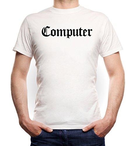 Computer T-Shirt White Certified Freak