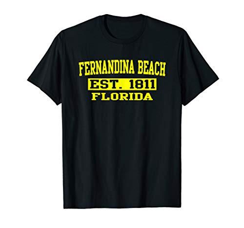 Fernandina Beach T Shirt Florida Amelia Island Tee Shirt