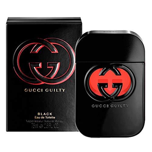 Ġûcĉi Guilty Black Eau De Toilette Spray For Women 2.5 FL. OZ./75 ml