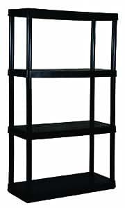 Gracious Living 4-Shelf Medium Duty Shelf Unit