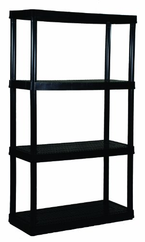 Gracious Living 4-Shelf Medium Duty Shelf Unit