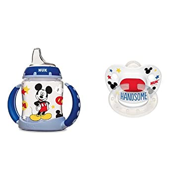 NUK Disney Learner Cup with Silicone Spout Mickey Mouse 5-Ounce 1