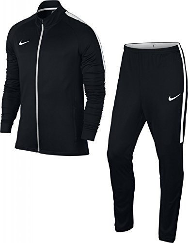 Nike Soccer Suit - Nike Dry Training Academy Men's Tracksuit (XL, Black/White)