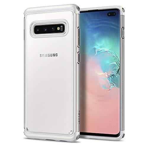 Spigen Neo Hybrid NC Designed for Samsung Galaxy S10 Plus Case (2019) - Prism White